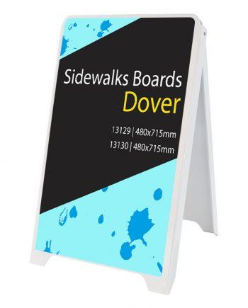 Caballete Publicitario de PVC Dover