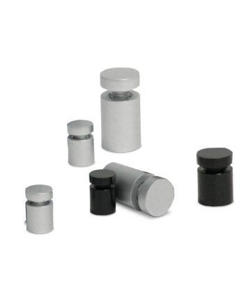 Separadores de Alumínio para placas Ø25x30mm