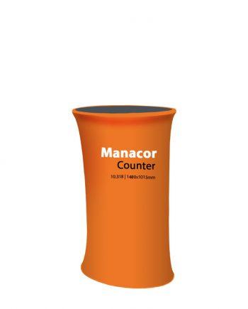 Balcão Publicitário para Têxtil Manacor