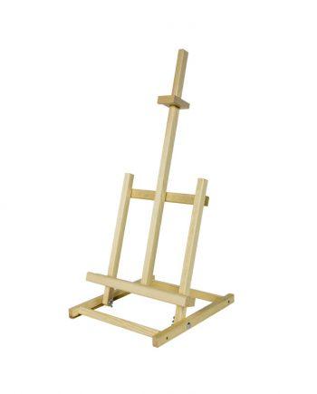 Cavalete de mesa em madeira 62X28-54cm