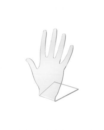 Expositor de Acrílico em forma de mão