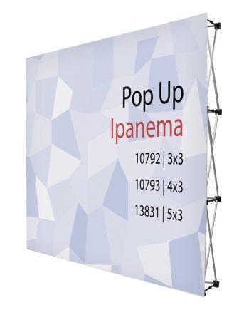 Pop-Up Textil con Velcro Ipanema