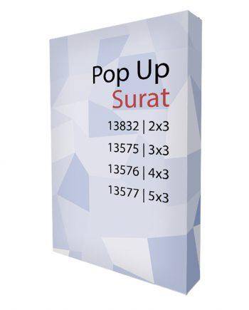 Pop-Up Textil con Velcro Surat